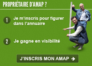 Propritaire d'AMAP, inscrivez vous