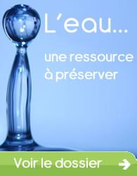 L'eau, une ressource à préserver