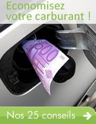 Economisez votre carburant !