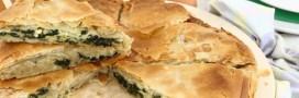 Recette Bio: Feuilleté d'épinards au tofu