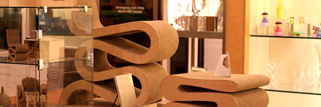 Des meubles en carton ? idée canon !