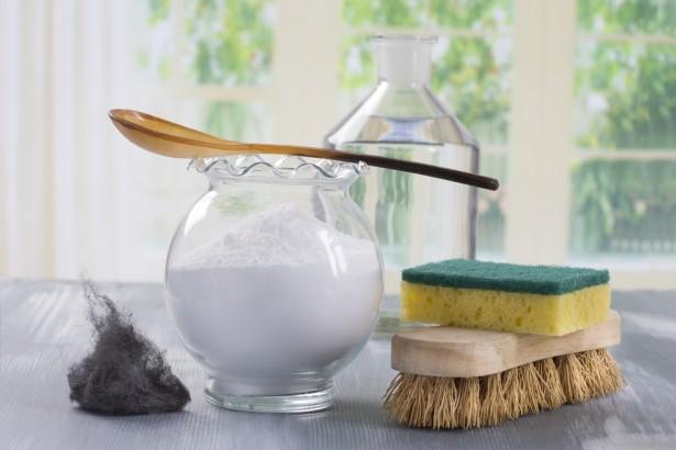 nettoyant multi-usages naturel, bicarbonate, vinaigre blanc
