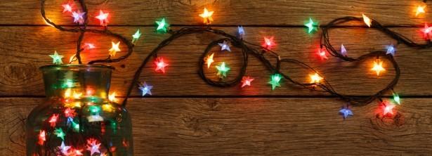 guirnades, ampoules LED, décoration