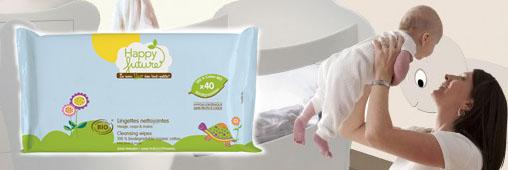 Comment remplacer les lingettes nettoyantes de bébé ?