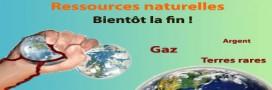 L'épuisement des ressources naturelles