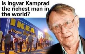 Ikea-kampard
