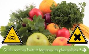 fruits et legumes les plus pollues