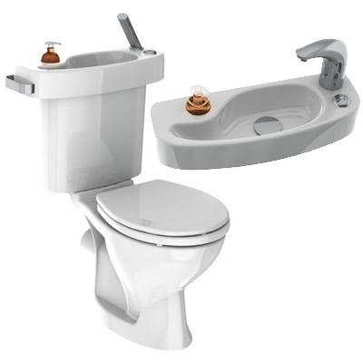 economie d'eau : vos toilettes avec lavabo intégré ! - technologie