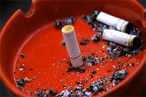 cigarette cendrier