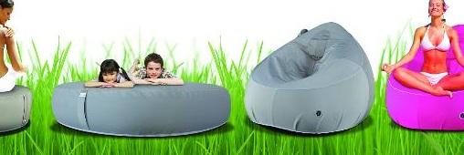 Des poufs éco-conçus pour profiter de la terrasse