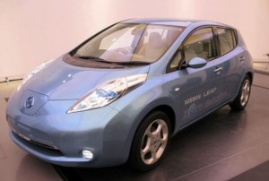 nissan leaf electrique