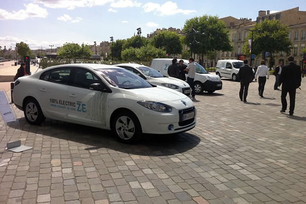 fluence ze electrique