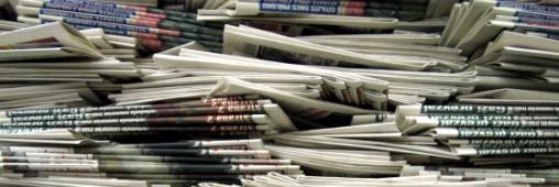 Nos vieux journaux, carburant de demain ?