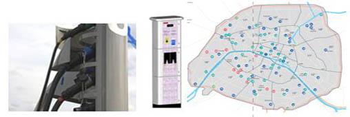 Voiture électrique : où sont les bornes de recharge ?