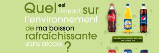 Affichage environnemental. Quid des sodas ?