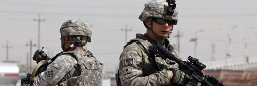 Carton rouge à l'armée américaine en Afghanistan