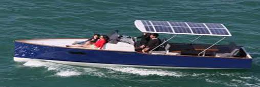 Aequus, le bateau de plaisance solaire