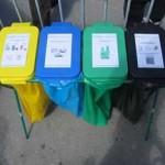poubelles tri selectif verre
