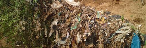 Du plastique pour paver les routes africaines