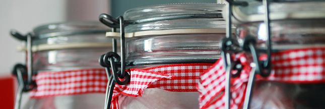 conserves domestiques bocaux en verre