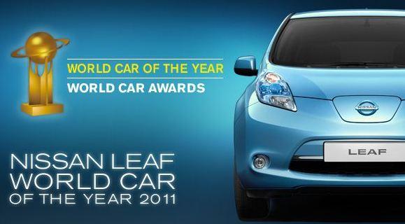 automobile propre Leaf nissan