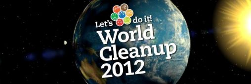Je participe au World Clean Up le 22 septembre