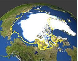 banquise arctique en 1978