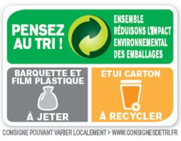 La nouvelle signaltique propose par Eco-Emballages