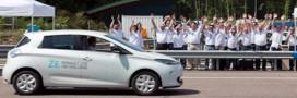 La Renault électrique Zoé bat un record :1618 km en 24 h