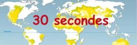 Vidéo, le changement climatique en 30 secondes