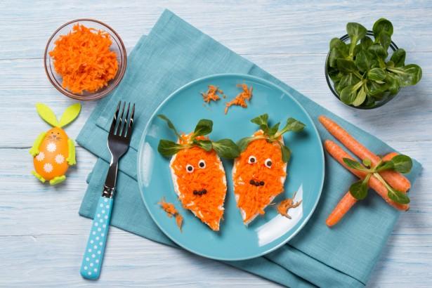 faire manger des légumes