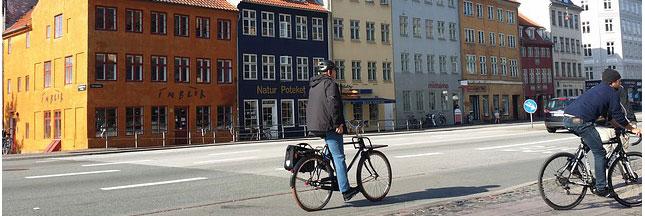 Bonne résolution : je vais au travail à vélo
