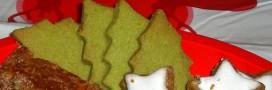 Sablés de Noël bio aux noisettes et au thé