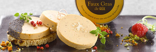 Faux Gras, un faux foie gras 100% vgtal