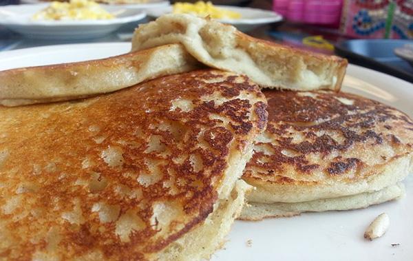 Les pancakes se déclinent en version végétalienne.