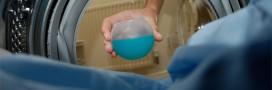 Je lave mon linge à l'eau froide