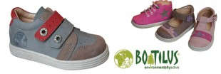 Des baskets pour enfants Boatilus, biodgradables et coconues