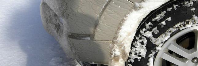 Fiche pratique : conduite en hiver, quels équipements pour mes pneus ?