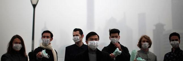 La pollution atmosphérique chine