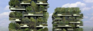 Une fort verticale  Milan pour purifier l&#039;air