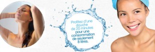Cyclobox, la douche qu&#039;on peut laisser couler