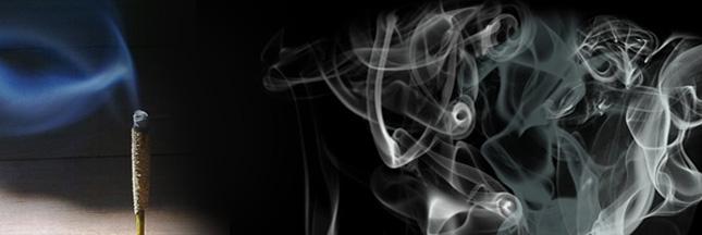 Idée reçue : l'encens assainit l'air ambiant