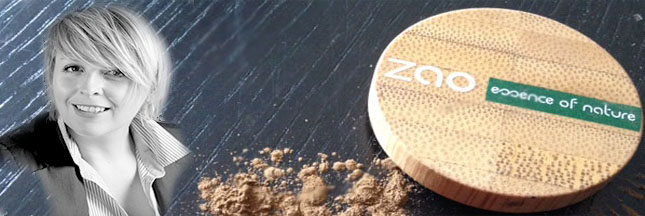 Zao MakeUp, une nouvelle gamme maquillage écolo