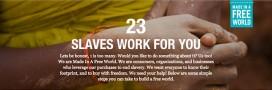 À votre avis, combien d'esclaves travaillent pour vous?