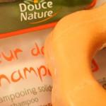 Fleur de shampooing solide Douce Nature, le test de la rédac...