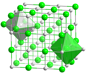 NaCl-polyhedra-oxyde-titane