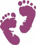 empreinte pieds