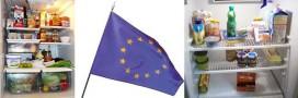 Comparaison du contenu du réfrigérateur des Européens