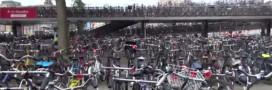 Le règne des vélos à Amsterdam – la vidéo