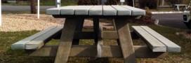 Urban'Ext transforme les briques de lait en mobilier urbain